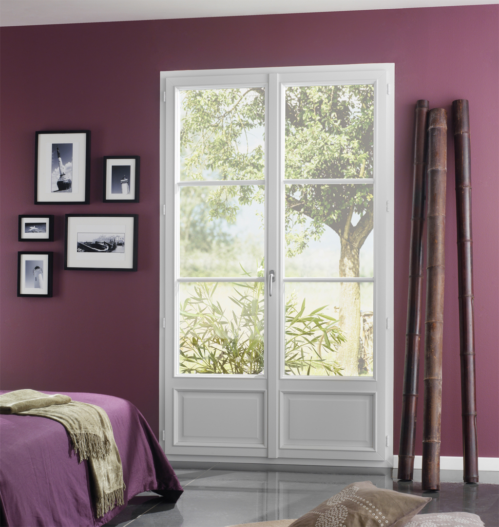 Fenêtre PVC Modèle Ambiance Chambre Littoral | Verrier STORES ET ...