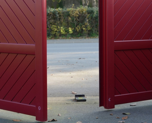 Portail - Verrier Stores & Fenêtres - Komilfo