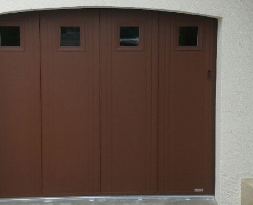 Porte de garage - Verrier Stores & Fenêtres